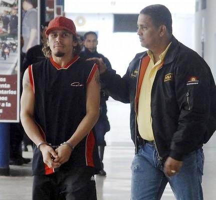 Edwin Valero fue encarcelado en la comandancia de la Policía de Carabobo.