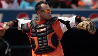 Guillermo Quiroz sería el catcher regular de las Águilas.
