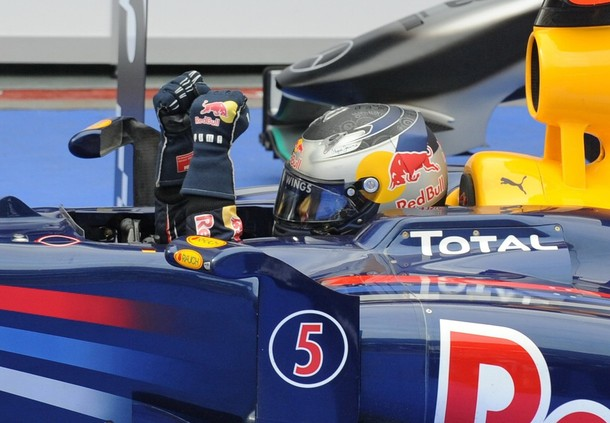 El alemán Sebastian Vettel se llevó la victoria en Sepang.