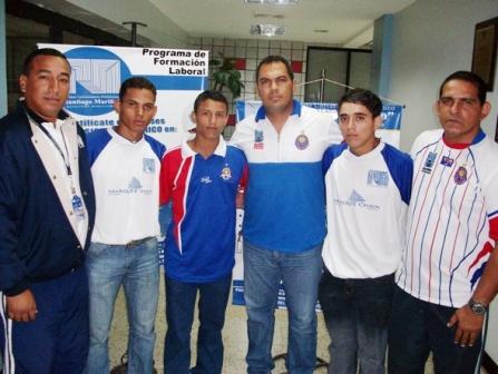 El equipo marabino y la institución trabajarán juntos. Foto: Prensa UAM