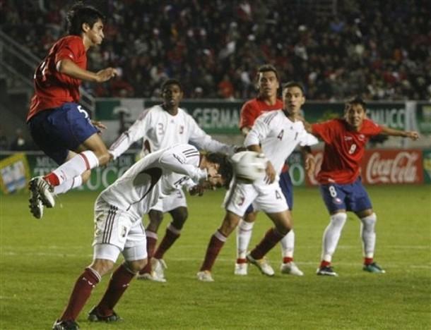 La vinotinto jugó ante Chile su quinto partido del 2010.