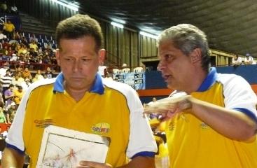 El técnico Jorge Arrieta no seguirá de amarillo. Gustavo García surge como candidato.