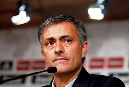 José Mourinho fue interrogado, largo rato, por la prensa.