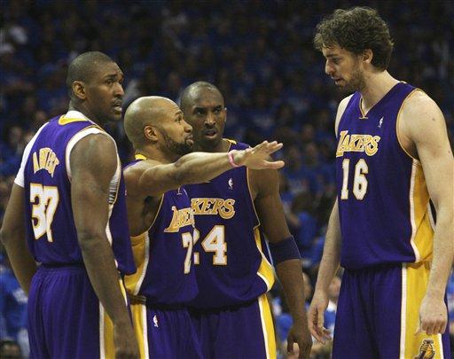 Los Lakers defenderán el título frente a los Celtics.