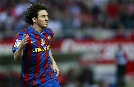 Lionel Messi marcó el primero de los azulgranas.