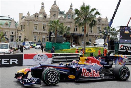 Los Red Bull siguen dominando en la calles del principado de Mónaco.