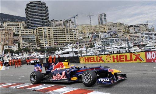 El australiano Mark Webber ganó en las calles del principado.
