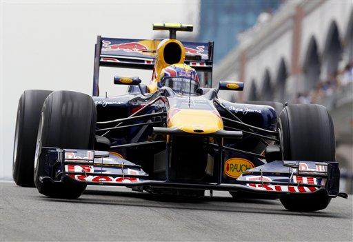 Mark Webber, de Red Bull, busca su tercer triunfo seguido.