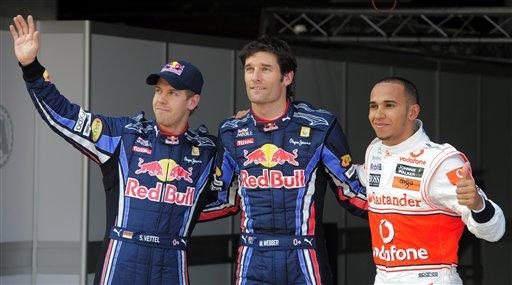 Los pilotos de la Red Bull siguen mandando.