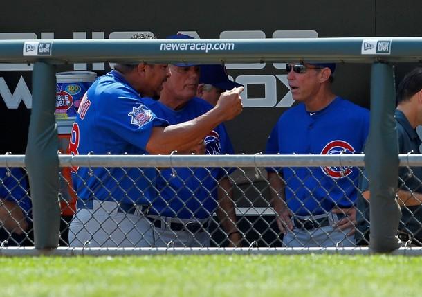 Carlos Zambrano señaló en la cueva de los Cubs.
