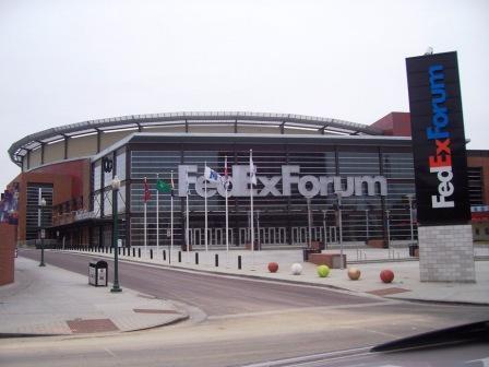 En el FedexForum de Memphis juegan los Grizzlies.