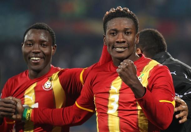 Asamoah Gyan marcó el tanto de la victoria en la prórroga.