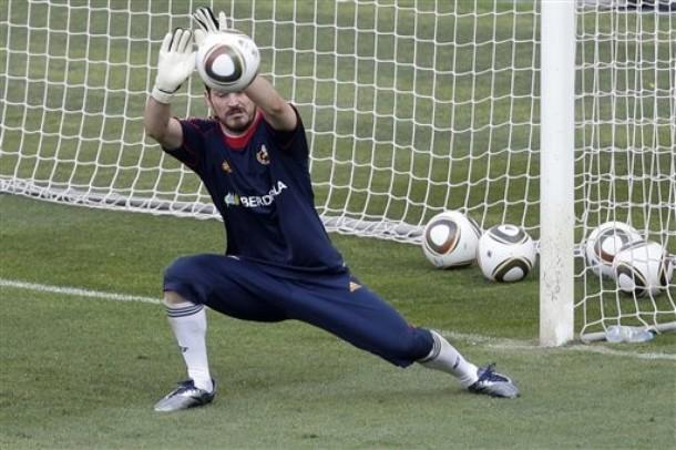 El portero Iker Casillas luce para ser el mejor del Mundial.