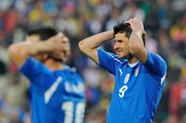La decepción acompañó a los italianos.
