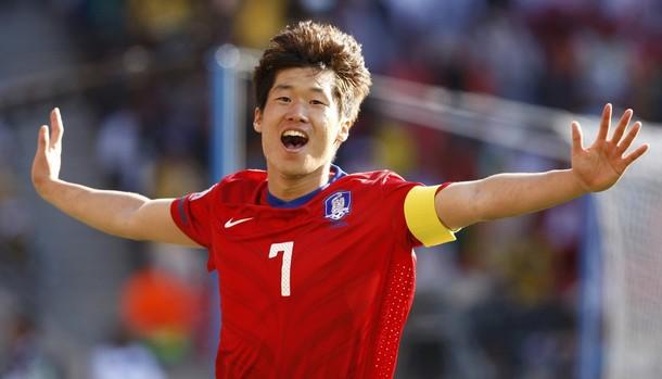 El capitán Ji-Sung Park marcó el segundo tanto.