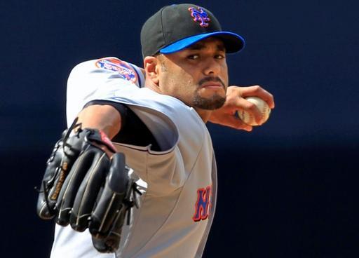 Johan Santana no ha tenido la mejor campaña con los Mets.