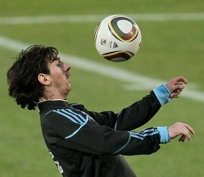 Lionel Messi está listo para el partido del sábado.