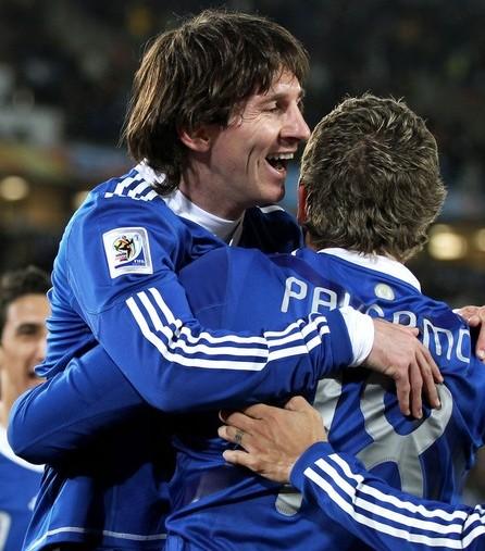 Lionel Messi y Martín Palermo decidieron.