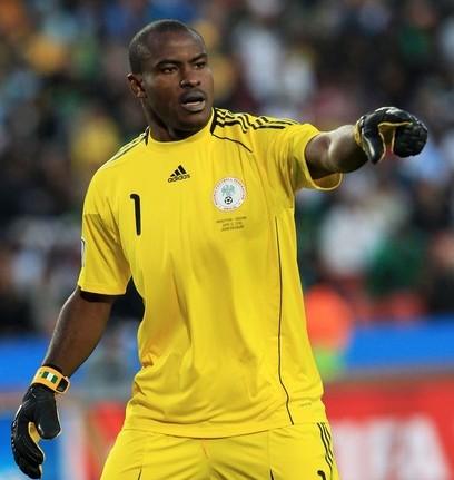 El portero Vincent Enyeama fue la figura de Nigeria ante Argentina.