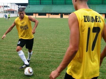 Diego Meleán es uno de los jóvenes que cumple con la regla Sub-18.
