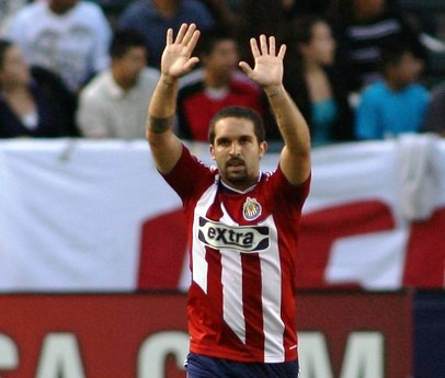 Giancarlo Maldonado ya comenzó a celebrar con las Chivas.