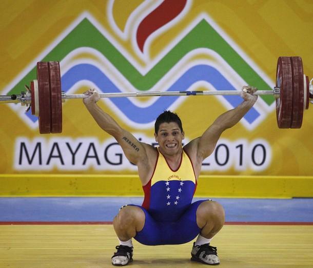 José Ocando se quedó con la dorada en los 77 kilos.