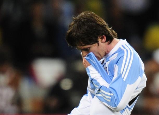 Lionel Messi defraudó con su actuación en Sudáfrica. Se fue sin goles.