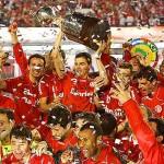 Inter de Porto Alegre campeón de la Libertadores