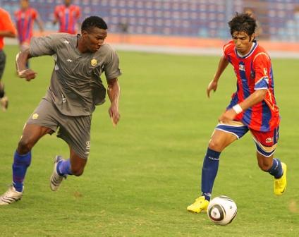 Javier González fue una pesadilla para la defensa visitante.