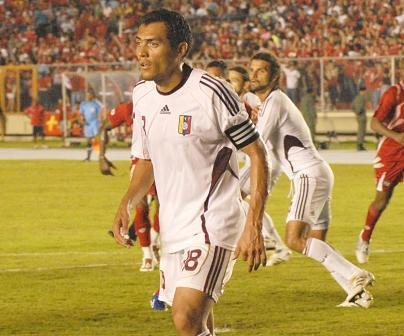 El capitán Juan Arango volverá a jugar en Puerto La Cruz.