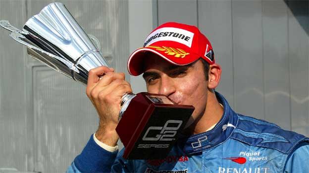 El piloto venezolano está a las puertas de la gloria en la GP2.