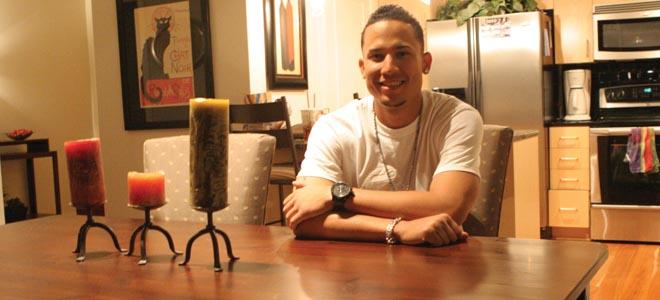 Carlos González disfruta de su hogar en Denver. Foto: Wilmer Reina/La Verdad