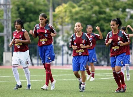 Las criollas siguen entrenando para los próximos partidos.