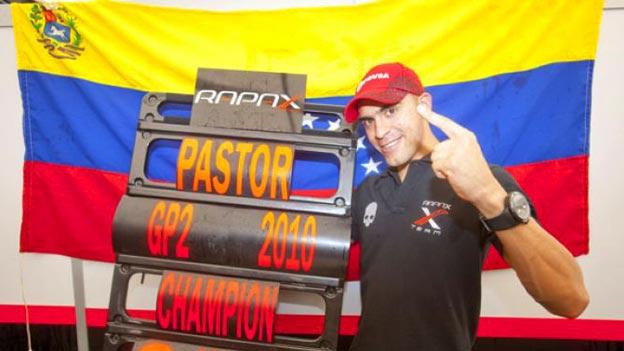 Pastor Maldonado consiguió su primer título en la GP2.
