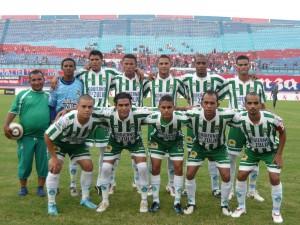 El equipo verde y blanco no pudo vencer como local.