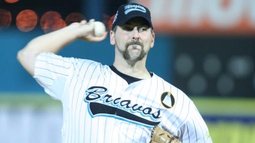 Heath Totten volvió a lucir en Maracaibo, pero con el uniforme de Bravos.