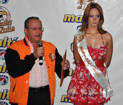 Luis Rodolfo Machado ofreció detalles del equipo zuliano.