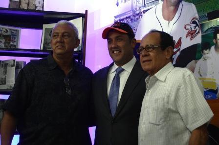 David Concepción compartió en Maracaibo con el gobernador Pablo Pérez y Luis Aparicio.