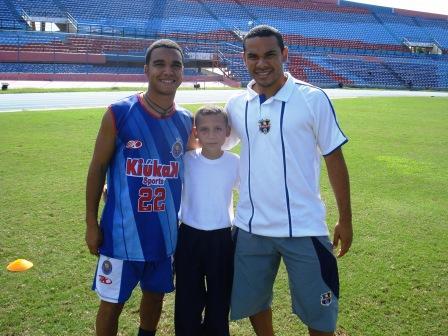 Devanis Orozco, del UAM, y Greddy Perozo, del Zulia, participaron en la actividad.