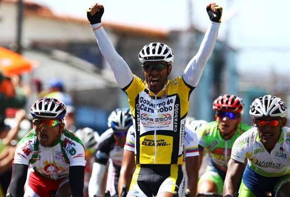 Miguel Ubeto se llevó la tercera fracción.