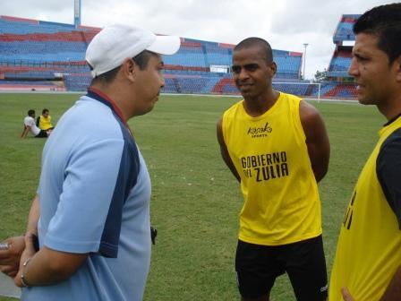Pedro Duval tuvo su primer encuentro con el cuerpo técnico.