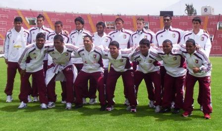 La selección nacional Sub 20 reconoció el estadio.