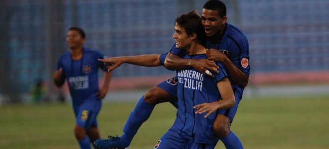 Manuel Arteaga se gozó su gol. Foto: La Verdad