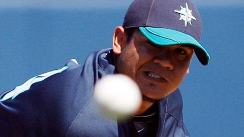 Félix Hernández es el as de los Marineros.