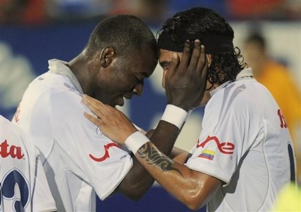 Con Dayro Moreno y Wason Rentería el Once Caldas ha sorprendido.