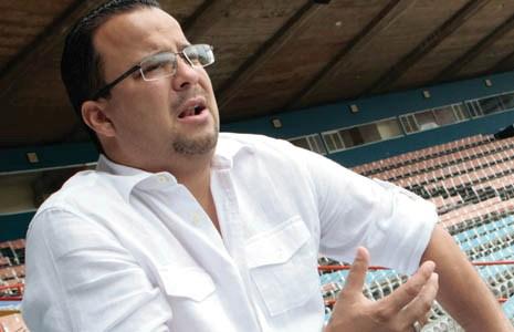 Ruperto Machado, gerente general de las Águilas del Zulia.