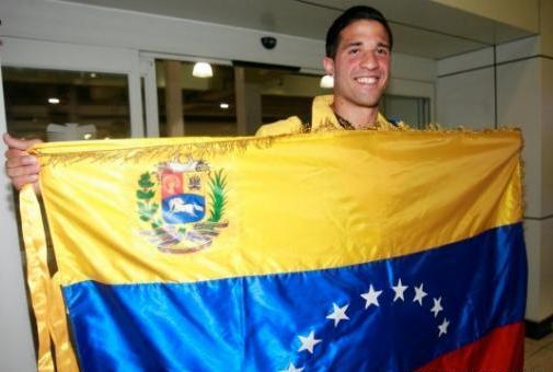 Greivis Vásquez llegó al país para trabajar por la selección.