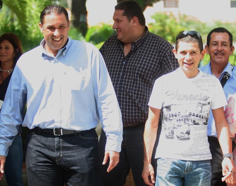 Pablo Pérez, gobernador del Zulia, ofreció rueda de prensa con José Rujano.