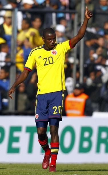 Adrián Ramos marcó el tanto colombianp.