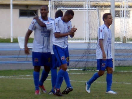 Los zulianos celebraron el gol de Edgar Rito.